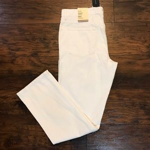 Tommy Hilfiger Straight Leg White Denim Jeans 36